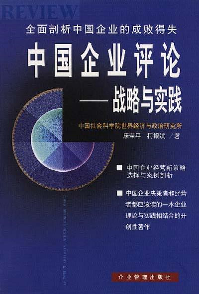 中国企业评论--战略与实践